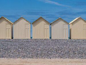 photo cabane bord de mer france