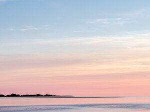photo coucher de soleil plage