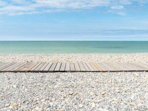 photo de plage de galets