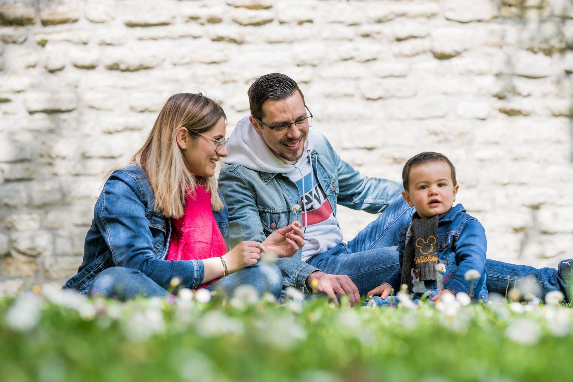 seance photo famille pour article de blog